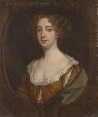 Aphra Behn, by the Anglo-Dutch artist Sir Peter Lely, ca. 1670 | © Yale Center for British Art / Wikimedia Commons