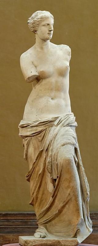 Alexandros of Antioch-on-the-Meander, Venus de Milo, ca. 150-125 BC   ©Jastrow (2007)/WikiCommons