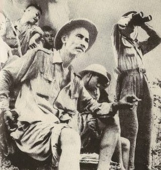 Ho Chi Minh in Dong Khe, 1950   Jean Chesneaux/WikiCommons