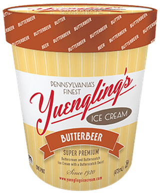 Yuenglings Butterbeer Ice Cream | Courtesy of Yuenglings