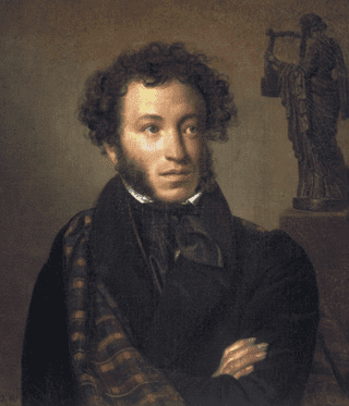 Pushkin, by Orest Kiprensky (1827)