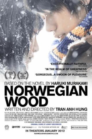 Film poster for Norwegian Wood © Fortissimo Films