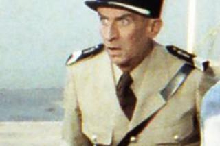 Louis de Funès shooting in St Tropez