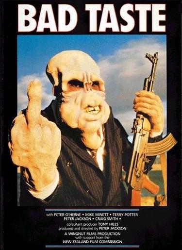 Bad Taste film poster © Husky/WikiCommons