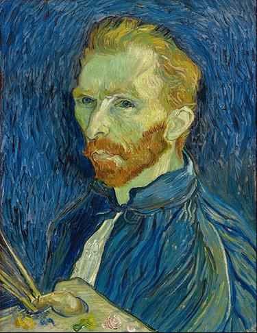 Vincent Van Gogh. 'Self-Portrait,' (1889) | © WikiCommons
