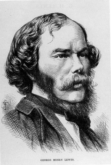 George Henry Lewes woodcut from an issue of Popular Science Monthly, 1876 |© Awadewit / WikiCommons