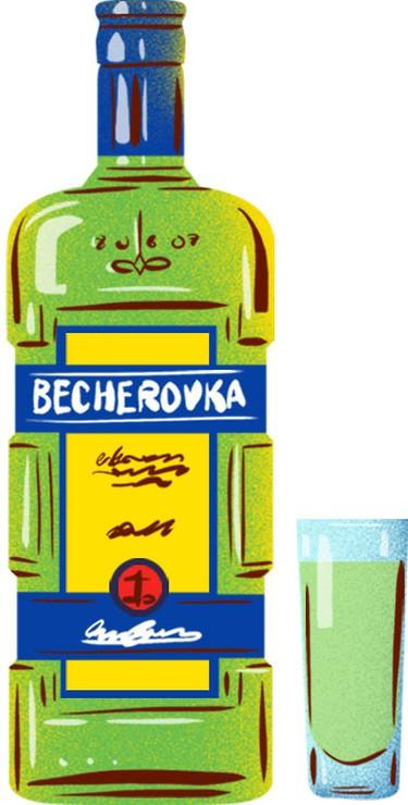 Becherovka | © Eating Prague Tours