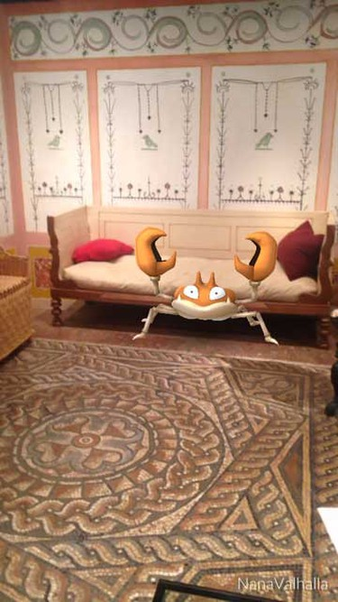 Pokemon Go at Museum of London| Courtesy of the Museum of London