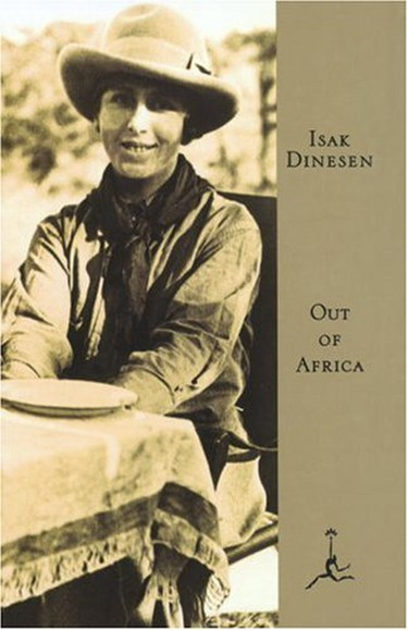 Out of Africa by Isak Dinesen (Karen Blixen) | Courtesy of Guild Publishing London