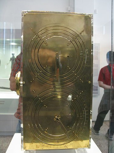 What the Antikythera mechanism is thought to have looked like