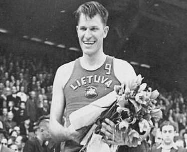 Frank Lubin at the EuroBasket ©Wikimedia Commons