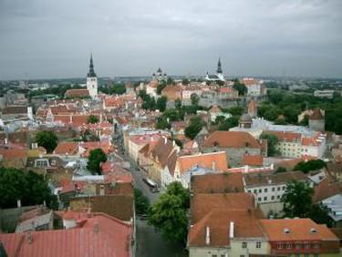 Tallinn Skyline, Estonia