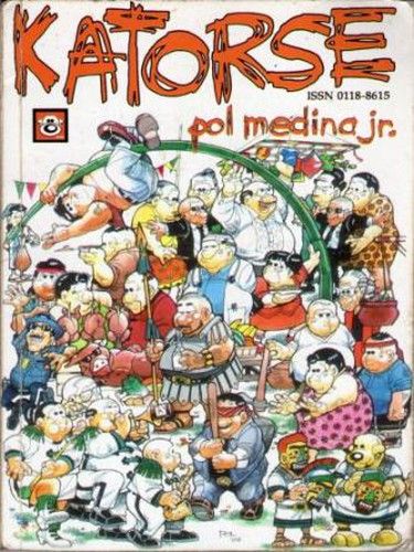 Cover of Katorse!, the 14th compilation of the comic strip series Pugad Baboy | © Nanami Kamimura/WikiCommons