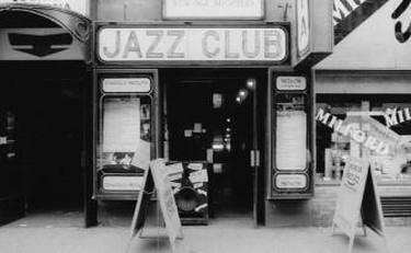 historic and modern Reduta Jazz Club