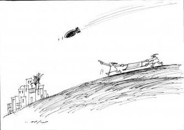 Abdul Raheem Yassir, miscellaneous cartoons