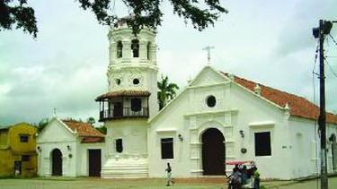 the church of Santa Barbara