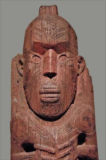Te Papa New Zealand Carving