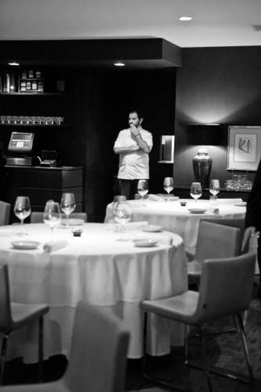 Enrique Olvera at Restaurante Pujol