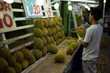 Durian Stall Singapore