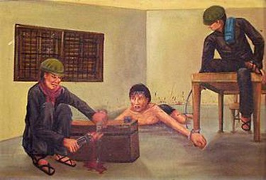 Vann Nath, Nail-pulling Torture, 1980