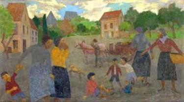 © Grégoire Michonze, Village Scene/Prodan Romanian Cultural Foundation