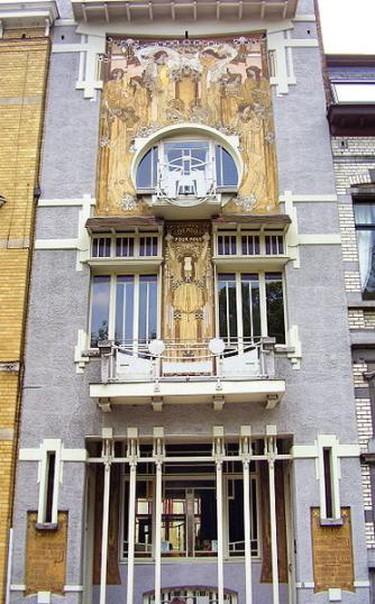 Maison Cauchie, rue des Francs 5, Brussels