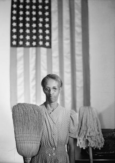 Gordon Parks' American Gothic