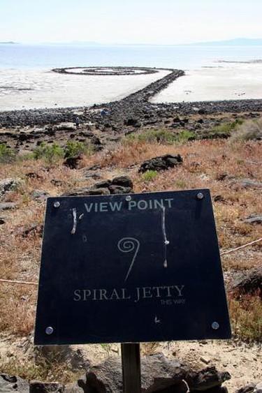 spiral jetty - robert smithson