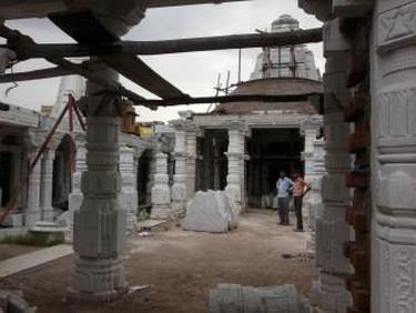 Jain Temple under construction