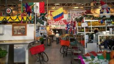 La Morenita at Mercado Medellin