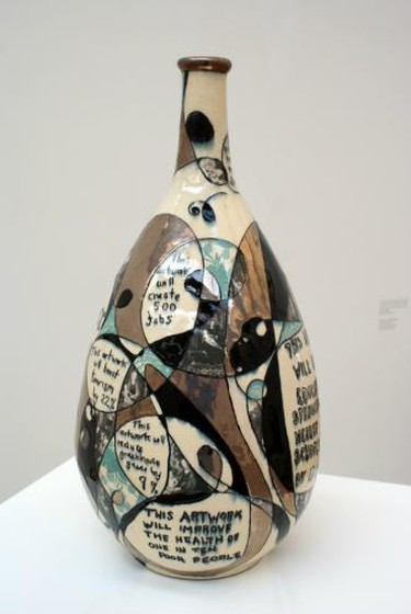 Grayson Perrys Ceramics Textiles