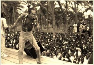 Fela Kuti, associated with Highlife | © Toludpilgrim/WikiCommons