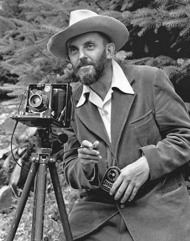 Ansel Adams (portrait)