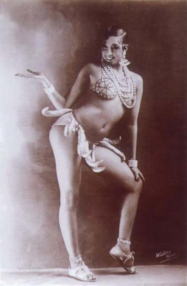 Josephine Baker in her Girdle of Bananas | © Walery, French/WikiCommons