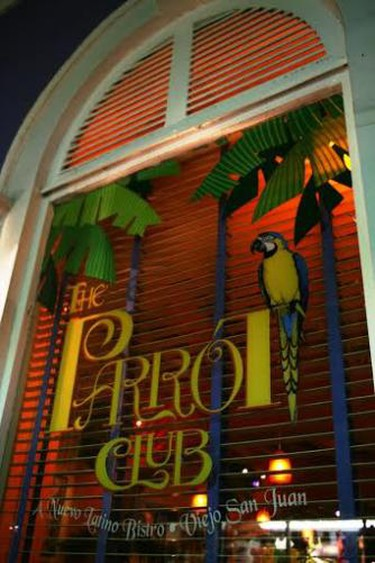 the parrot club