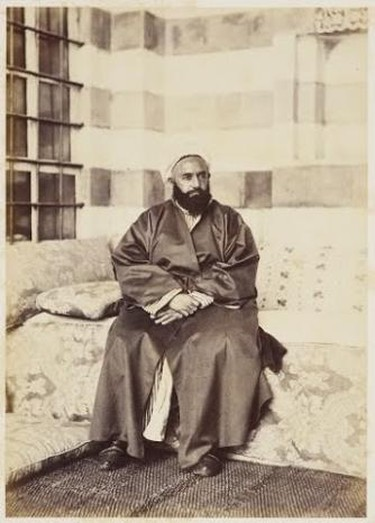 Portrait of Abd al-Qadir, May 1862 Royal Collection Trust ® Her Majesty Queen Elizabeth II 2014
