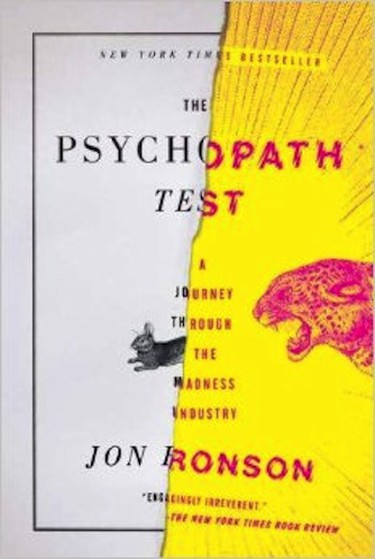 The Psychopath Test, Jon Ronson | © Riverhead Books