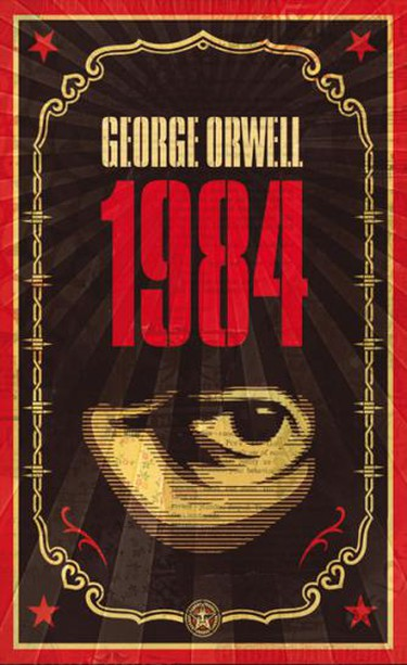 1984 by George Orwell | © Delbosillo