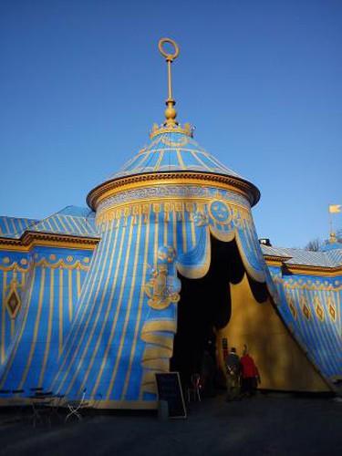 The Sultan's Copper Tents at Hagaparken
