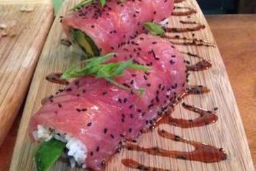 Sushi rolls at Sushi Rock