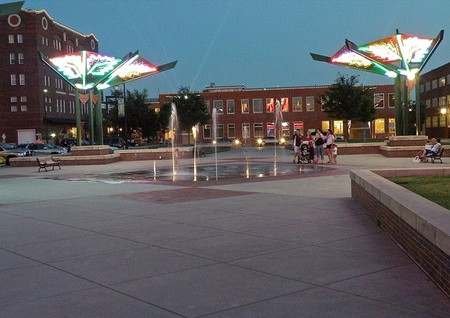 Old Town Square Wichita Kristin Nador Flickr