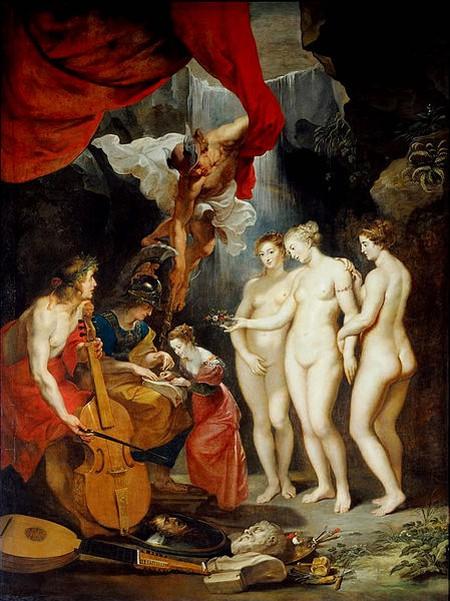 Peter Paul Rubens, Education of the Princess | © Louvre Museum/WikiCommons
