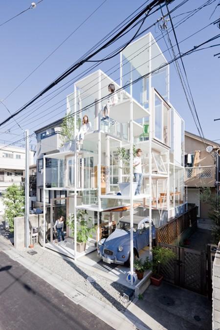 Sou Fujimoto, House NA, 2011 © Iwan Baan