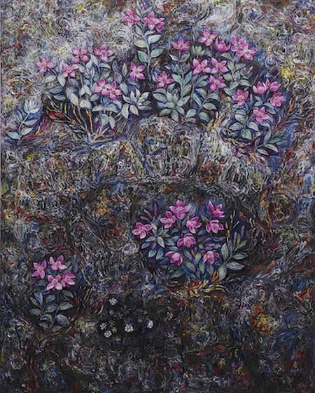 """Untitled,"" 2011-2012, Eggert Pétursson | Courtesy of the artist and i8 Gallery, Reykjavik"