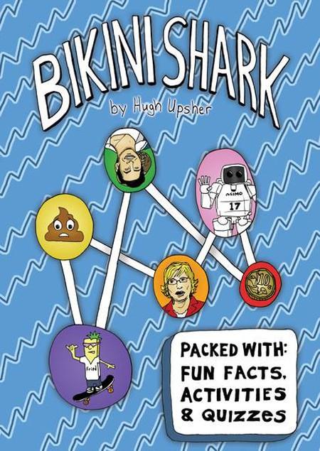 Bikini Shark zine by Hugh Upsher