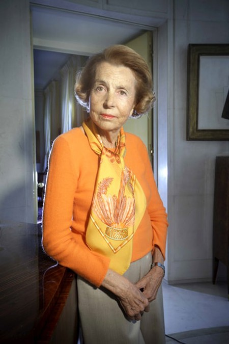 Liliane Bettencourt at her home in Neuilly-sur-Seine, France | © GRAF JACQUES/JDD/SIPA/REX/Shutterstock