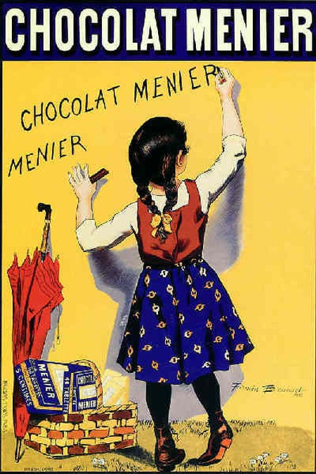 MenierChocolatePoster