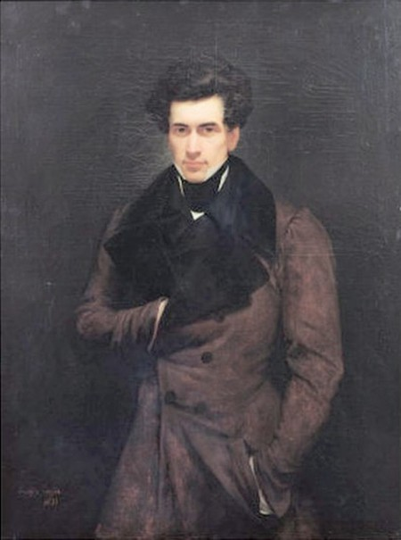 "Arry Scheffer, 'Portrait of Armand Carrel', 1800–1836 | <a href=""https://hu.wikipedia.org/wiki/Armand_Carrel#/media/File:Armand_Carrel_1.jpg"" target=""_blank"" rel=""noopener"">© WikiCommons</a>"