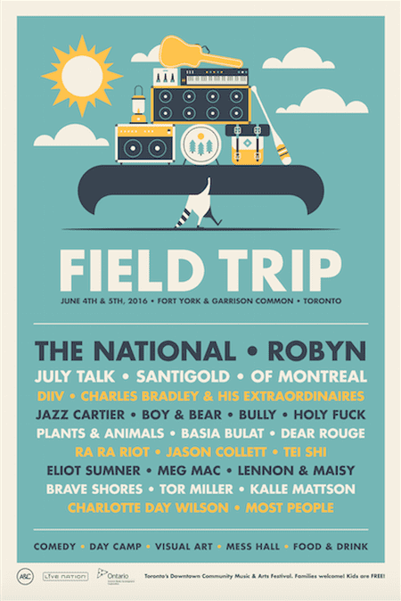 The Lineup | Courtesy of Field Trip