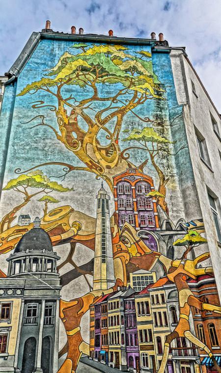 Molenbeek Graffiti | ©Miguel Discart